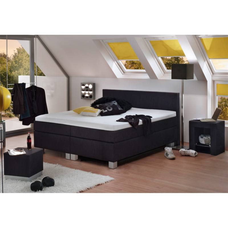 boxspringbett basic 160 x 200 cm. Black Bedroom Furniture Sets. Home Design Ideas